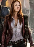 Ali Larter Resident Evil:The Final Chapter Leather Blazer
