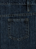 Italian Blue Denim-X Wash Jeans