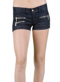 Zipper Celebrity Shorts