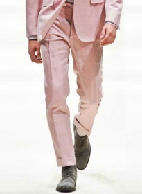 Trendy Fashion Colors Wool Linen Pants