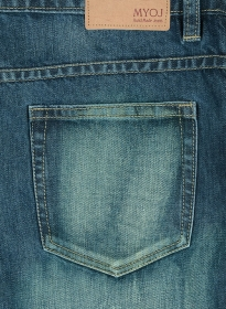 Mud Blue Denim Scrap Wash