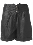 Leather Cargo Shorts Style # 358
