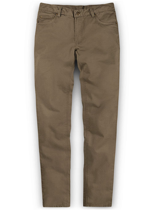 Brown Chino Jeans