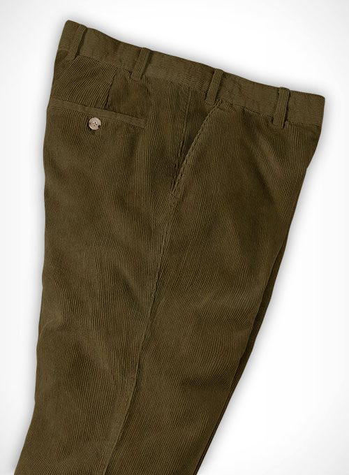 Camel Corduroy Trousers