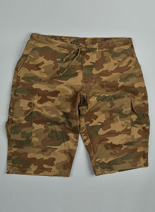 Cargo Drawstring Cotton Travel Shorts