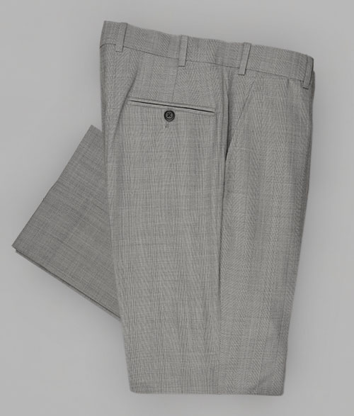 Casa Plaid Wool Pants