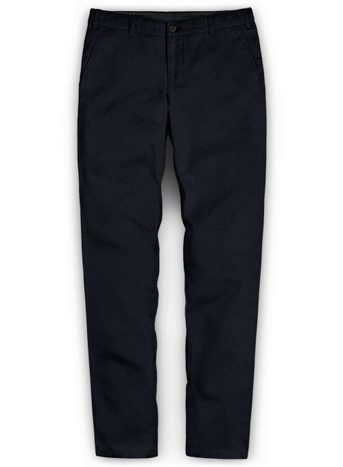 Dark Navy Blue Chinos