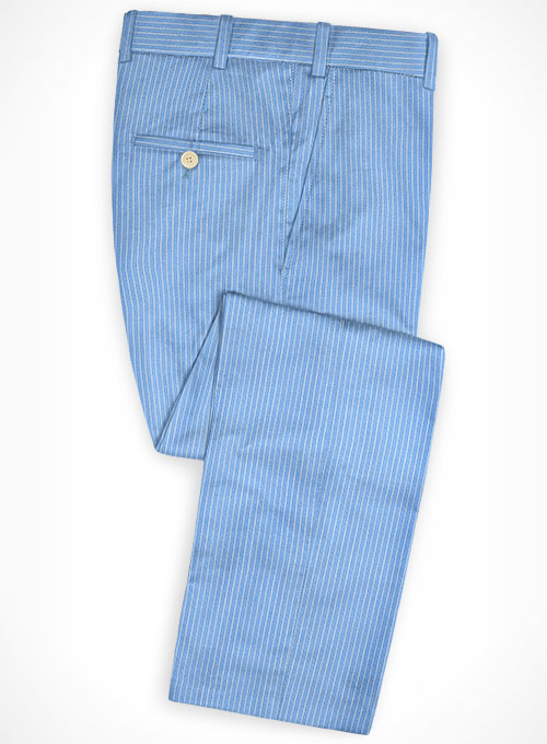 Cotton Inito Blue Pants