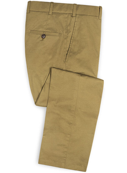 Dark Khaki Chino Pants