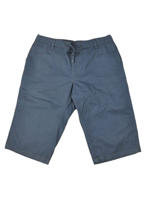 Drawstring Cotton Travel Shorts