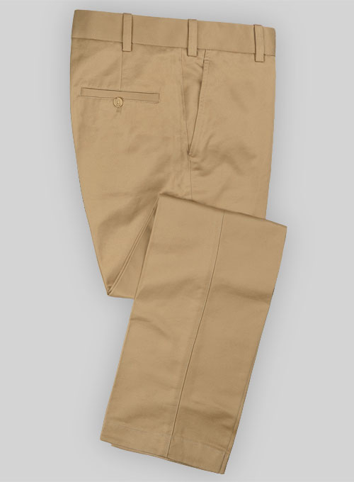 European Khaki Formal Chinos Makeyourownjeans 174 Made To