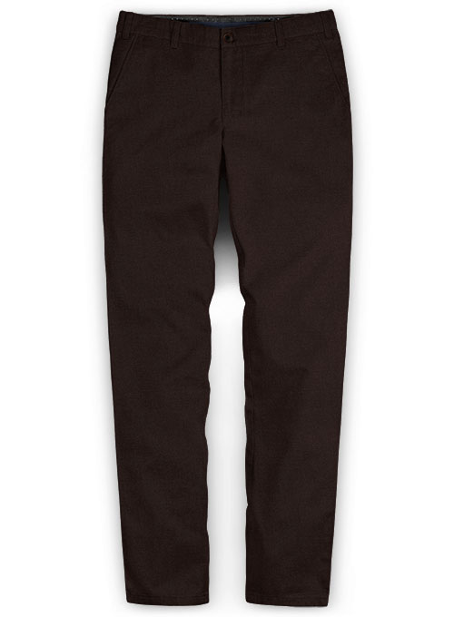 Brown Fine Twill Pants