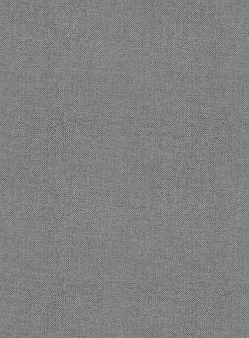 Frosted Mid Gray Terry Rayon Pants - Click Image to Close
