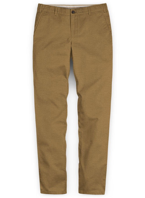 Heavy Dark Khaki Chinos