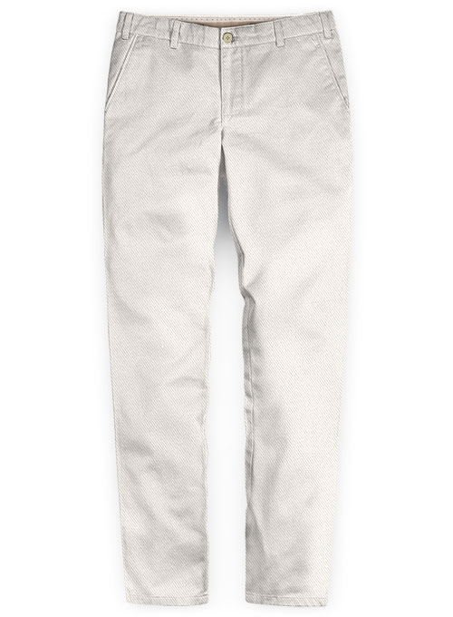 Heavy Light Beige Chinos