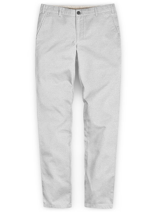 Heavy Light Gray Chinos