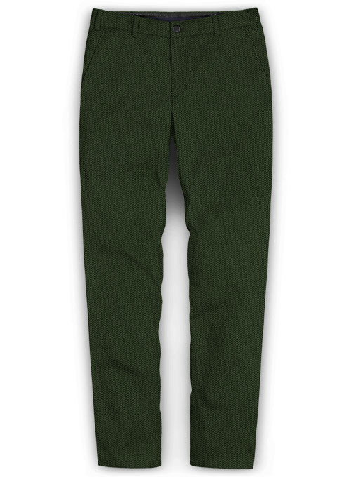 Heavy Olive Chinos