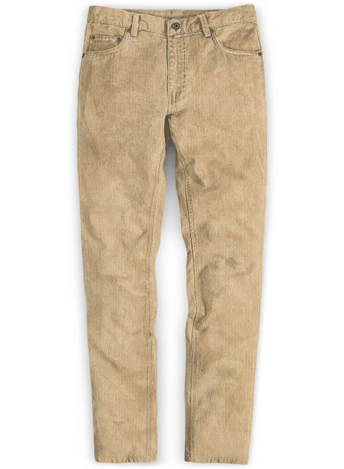 Light Khaki Corduroy Jeans