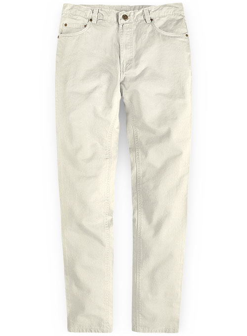 Light Beige Chino Jeans