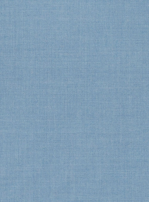 Light Weight Arctic Blue Tweed Pants - Click Image to Close