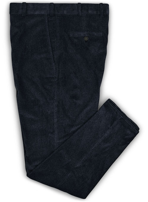 Midnight 21 Wales Stretch Corduroy Trousers