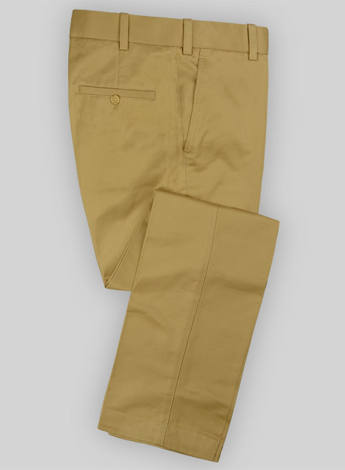 Military Khaki Formal Chinos Makeyourownjeans 174 Made To
