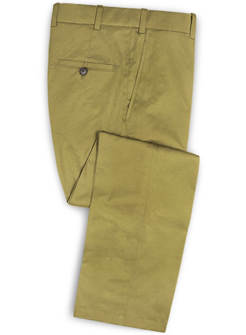 Military Khaki Chino Pants