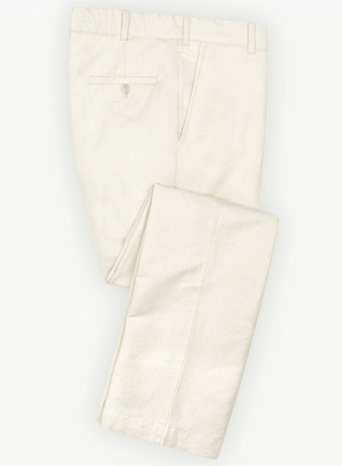 Natural Safari Cotton Linen Pants Makeyourownjeans