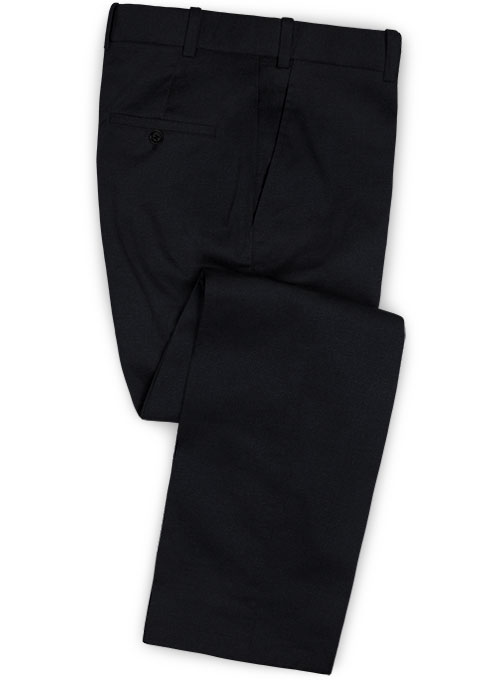 Dark Navy Blue Chino Pants