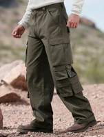 14 Pocket Cotton Cargo Pants