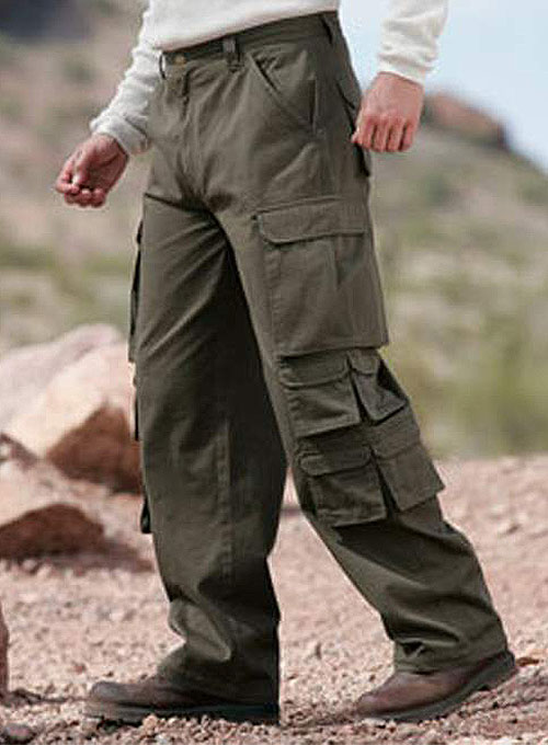 14 Pocket Cotton Cargo Pants [14 Pocket Cargo] - $80.00 ...