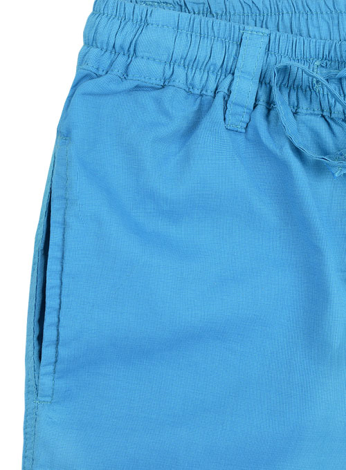 Poplene Royal Blue Light Weight Shorts - Click Image to Close