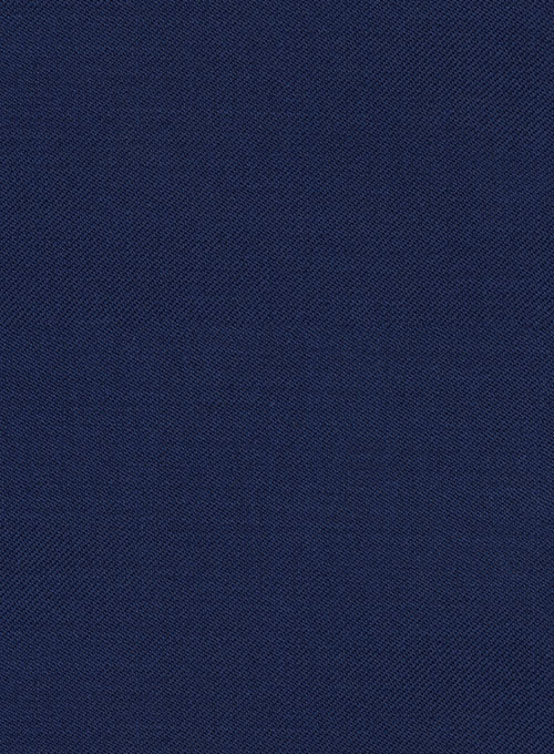 Reda Royal Blue Pure Wool Pants - Click Image to Close