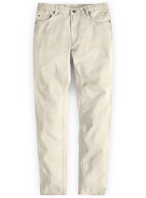 River Beige Chino Jeans