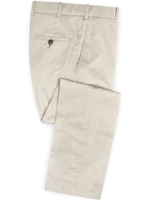 River Beige Chino Pants