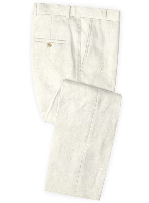Safari Natural Cotton Linen Pants