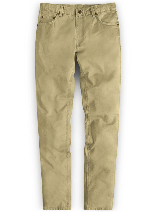 Stretch Summer Weight Khaki Chino Jeans