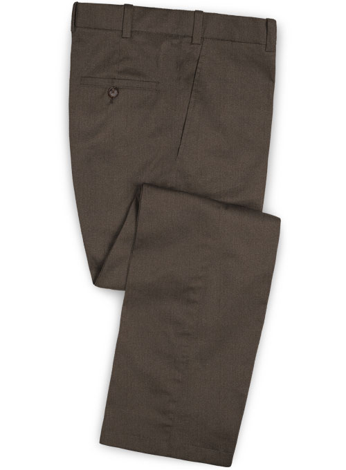 Summer Weight Brown Chino Pants