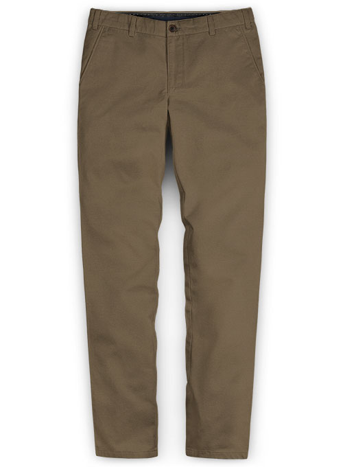 Summer Weight Irish Brown Chinos