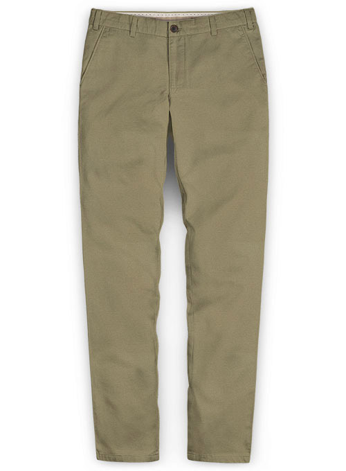 Summer Weight Stone Khaki Chinos