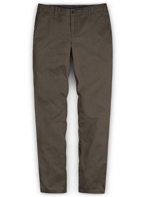 Summer Weight Brown Chinos