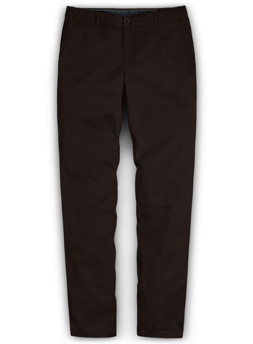 Twillino Thick Dark Brown Chinos