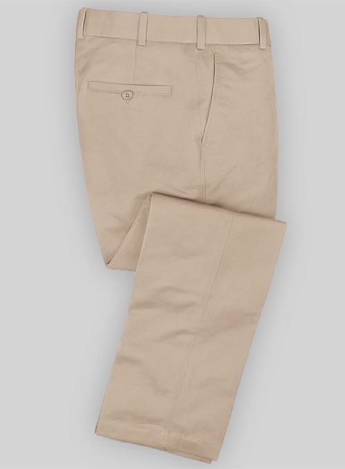 Twillino Fawn Formal Chinos Makeyourownjeans 174 Made To