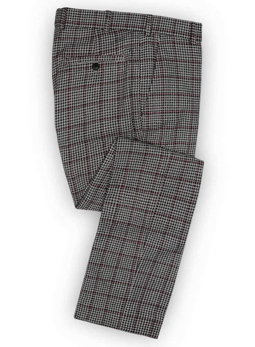 Vintage Checks Houndstooth Tweed Pants  MakeYourOwnJeansu00ae Made To Measure Custom Jeans For Men ...