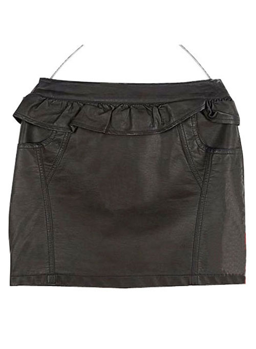 Haute Hippie Leather Skirt - # 127