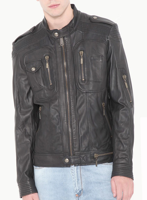 Leather Jacket #110