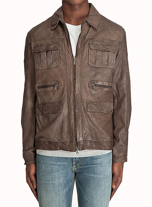 Leather Jacket #114 - 50 Colors
