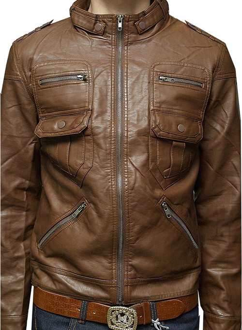 Leather Jacket #115 - 50 Colors