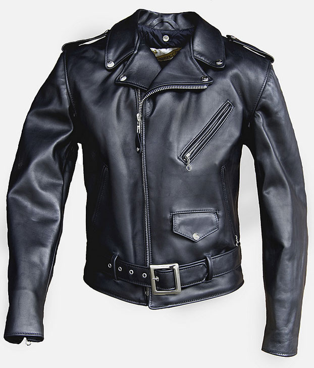 Pure Leather Biker Jacket #2 - 50 Colors