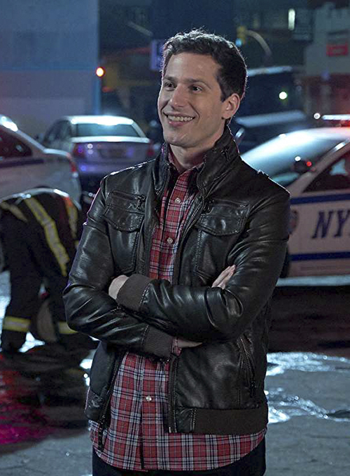 Andy Samberg Brooklyn Nine-Nine Leather Jacket